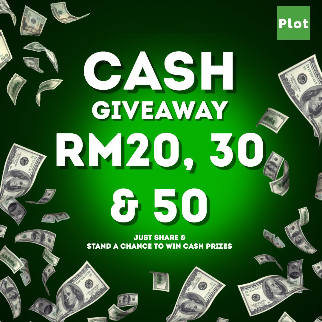 Cash Give Away! Just Share It!